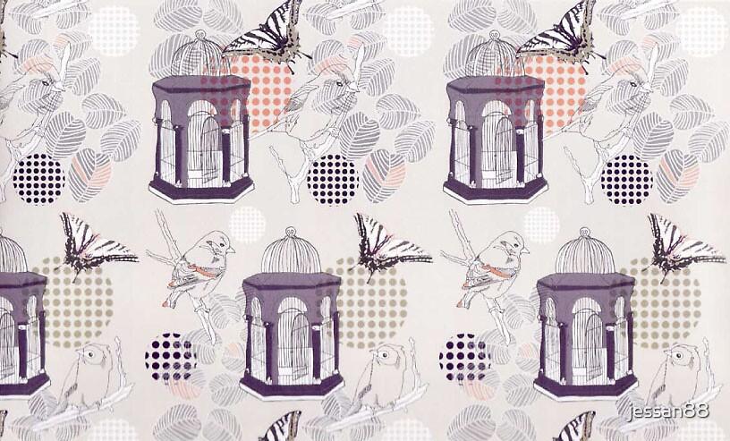 cage bird yardage by jessan88