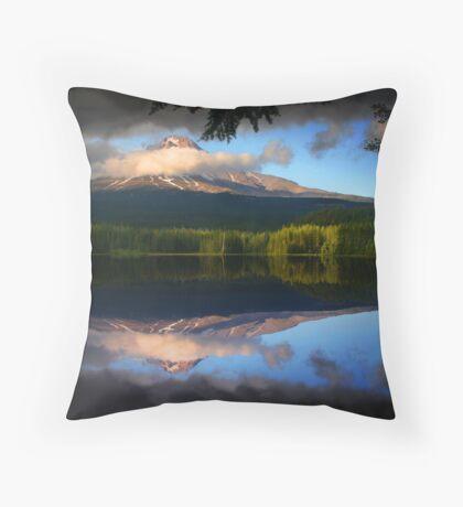 Trillium Reflection Throw Pillow