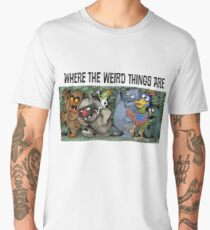 Where the Weird Things Are Men's Premium T-Shirt