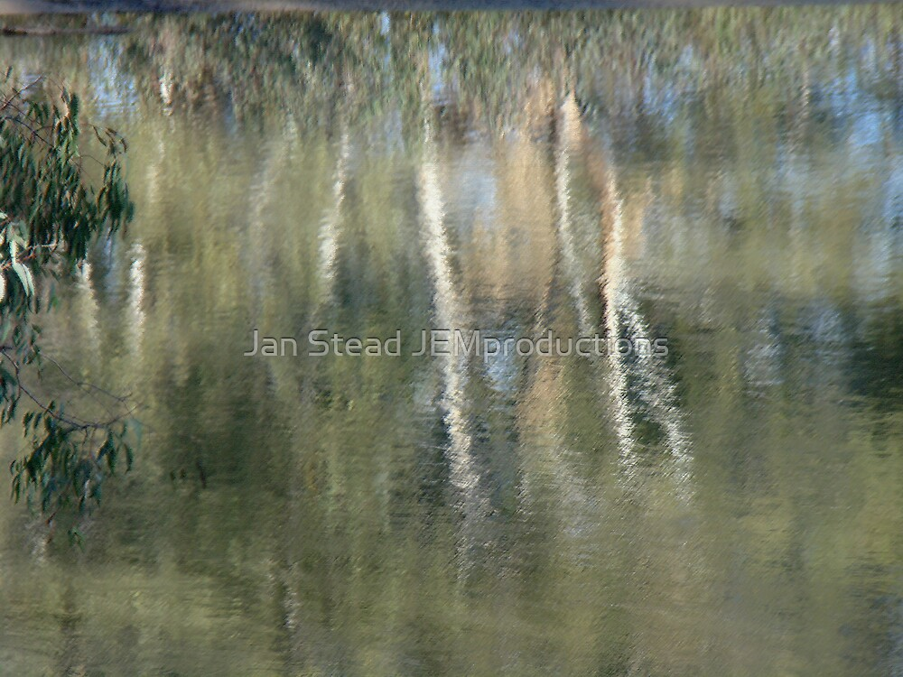 impressionist reflections  by Jan Stead JEMproductions