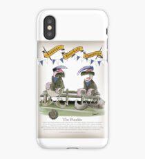 Vintage Football Blue Team Pundits iPhone Case/Skin