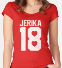 JERIKA Women's Fitted Scoop T-Shirt