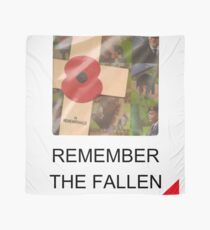 Remember The Fallen - Of WW1, WW2 and all other conflicts Scarf