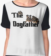 The Dog Father - Rottweiler Litter Women's Chiffon Top