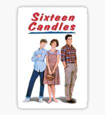 Sechzehn Kerzen Sticker