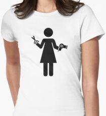Hairdresser woman T-Shirt