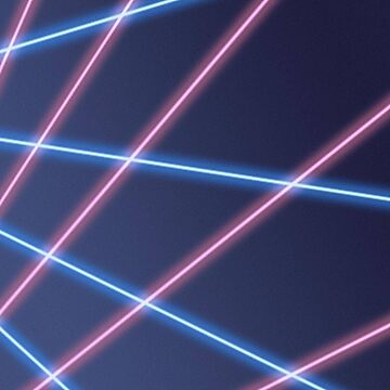 90s Laser Beam Picture Day Background, Retro, Oldschool by PollysCracker