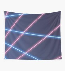 90s Laser Beam Picture Day Background Wall Tapestry