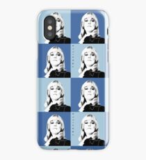 Kim Warhol Blue iPhone Case/Skin