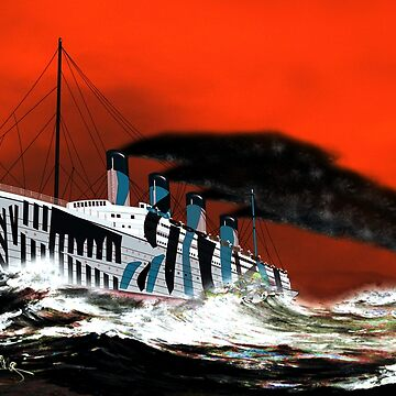 RMS Titanic's Senior Sister RMS Olympic 1911 to 1935 by ZipaC