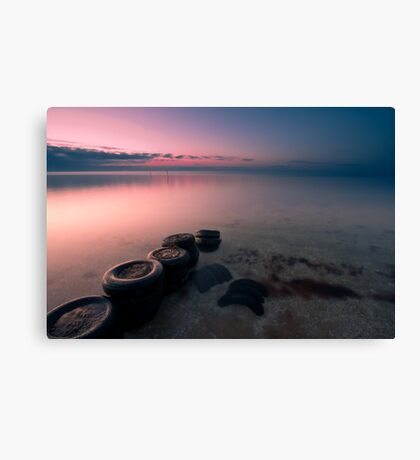 Tired Canvas Print