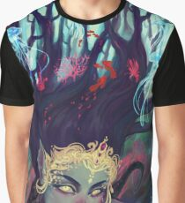 Abyss Mermaid Graphic T-Shirt