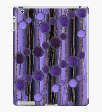 Retro Chic lilac iPad Case/Skin