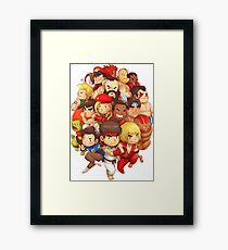 Fighter STF Framed Print
