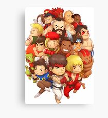 Fighter STF Canvas Print