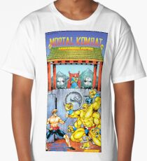 Mortal Kombat, Restored Vintage Nintendo Power Poster Long T-Shirt