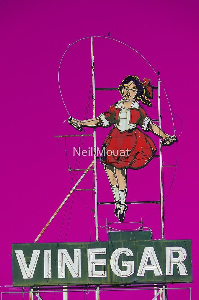 skipping girl in purple by Neil Mouat