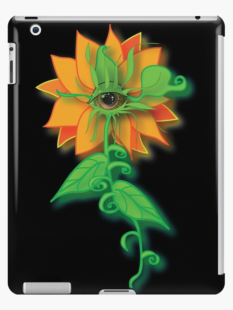 Amber-Eyed Flower by Shining Light Creations