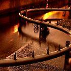 Night Fountain by Jeff Harris