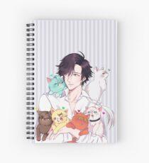 Cuaderno de espiral gato papá jumin