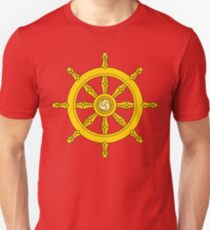 Dharma Wheel Unisex T-Shirt