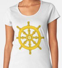 Dharma Wheel Women's Premium T-Shirt