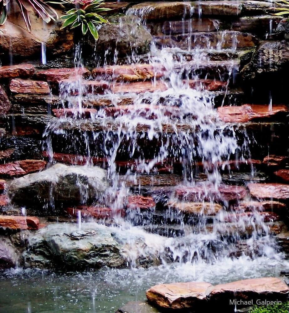 Waterfall by Michael  Galperin