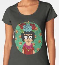 Tina Kahlo Women's Premium T-Shirt