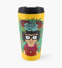Tina Kahlo Travel Mug