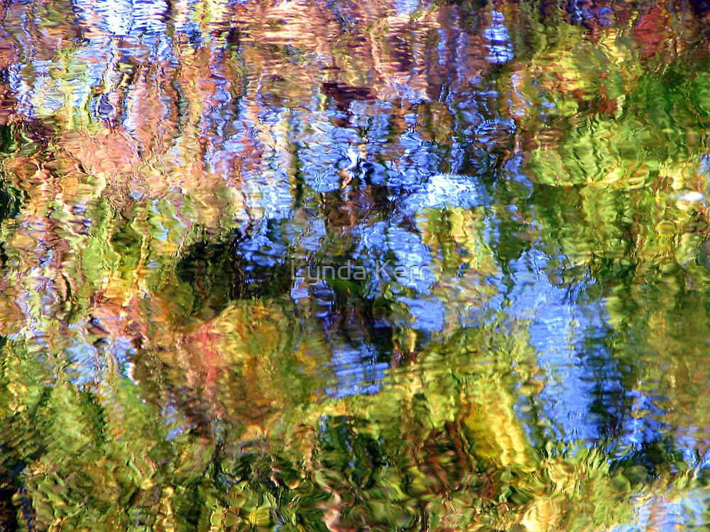 Coloured Water 5 by Lynda Kerr