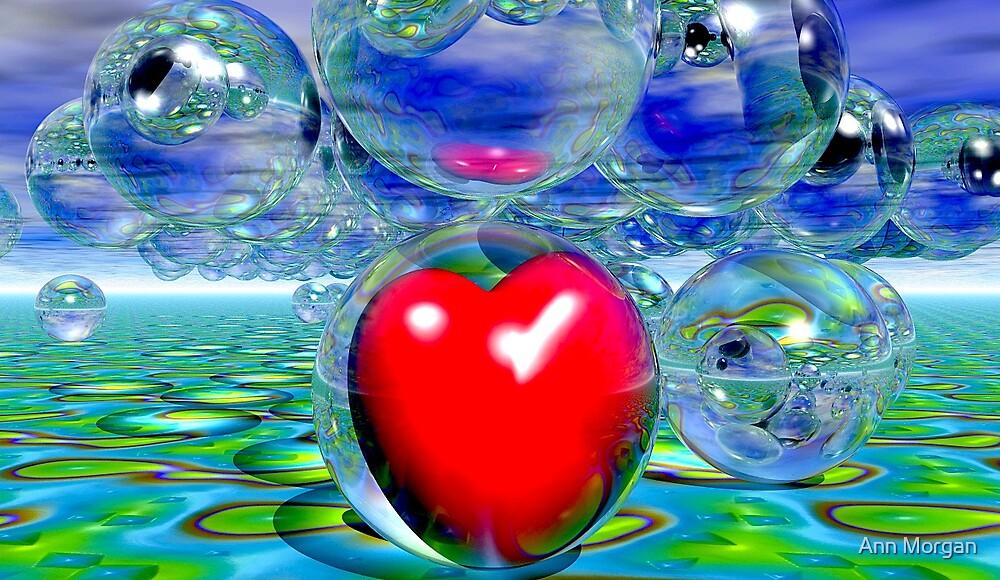 Heart Under A Bubbly Sky by Ann Morgan