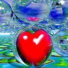 Heart Under A Bubbly Sky by Ann Morgan
