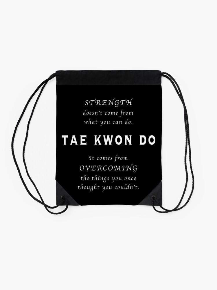 Vista alternativa de Mochila saco Cita Inspirada de Tae Kwon Do