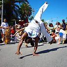 Capoiera St Kilda Festival I by Elaine Stevenson