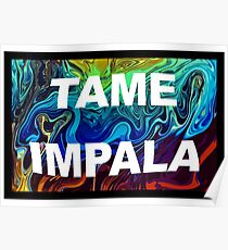 Tame Impala psychedelic Poster