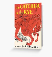 Catcher In the Rye Greeting Card