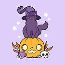 Pumpkin Cat by nikury