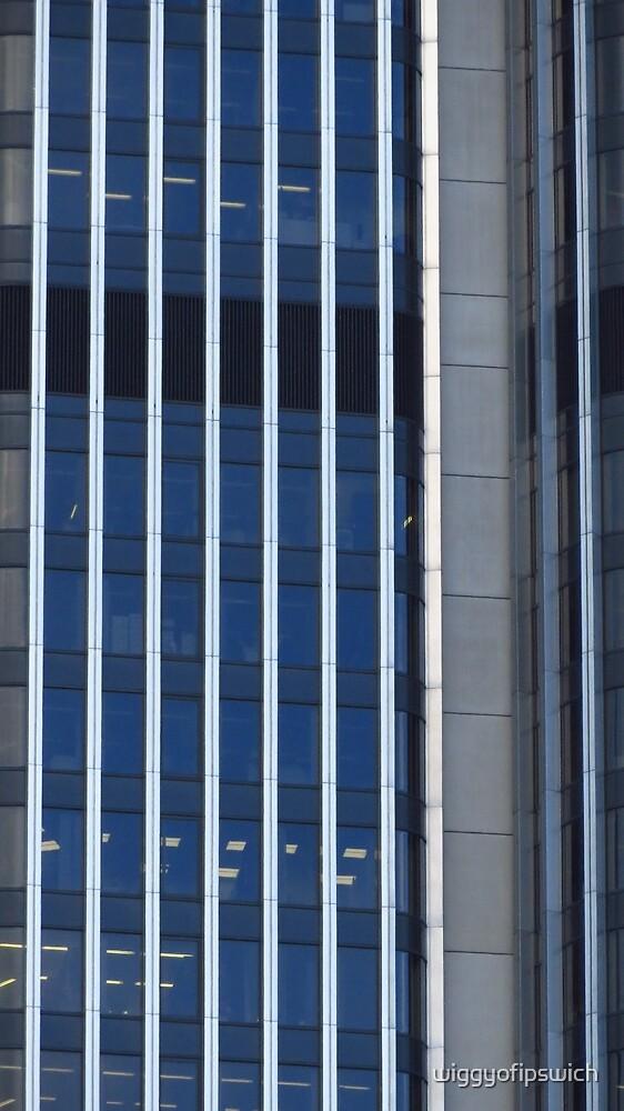 Stripes - Tower 42, London by wiggyofipswich
