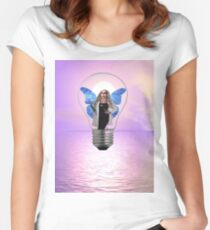 Surreal Dream 1 Women's Fitted Scoop T-Shirt