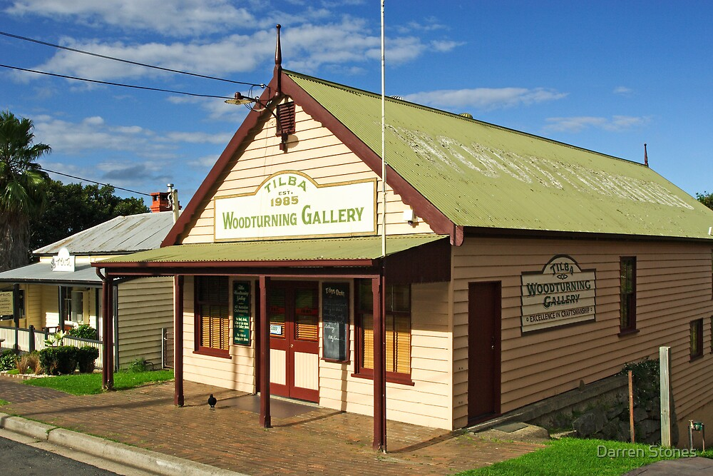 Woodturning Gallery at Central Tilba by Darren Stones