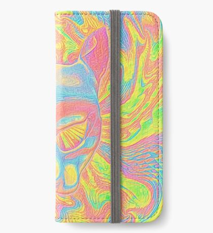 Abstract Mask iPhone Wallet
