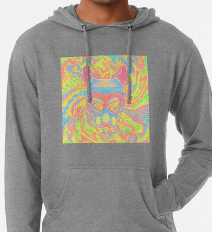 Abstract Mask Lightweight Hoodie