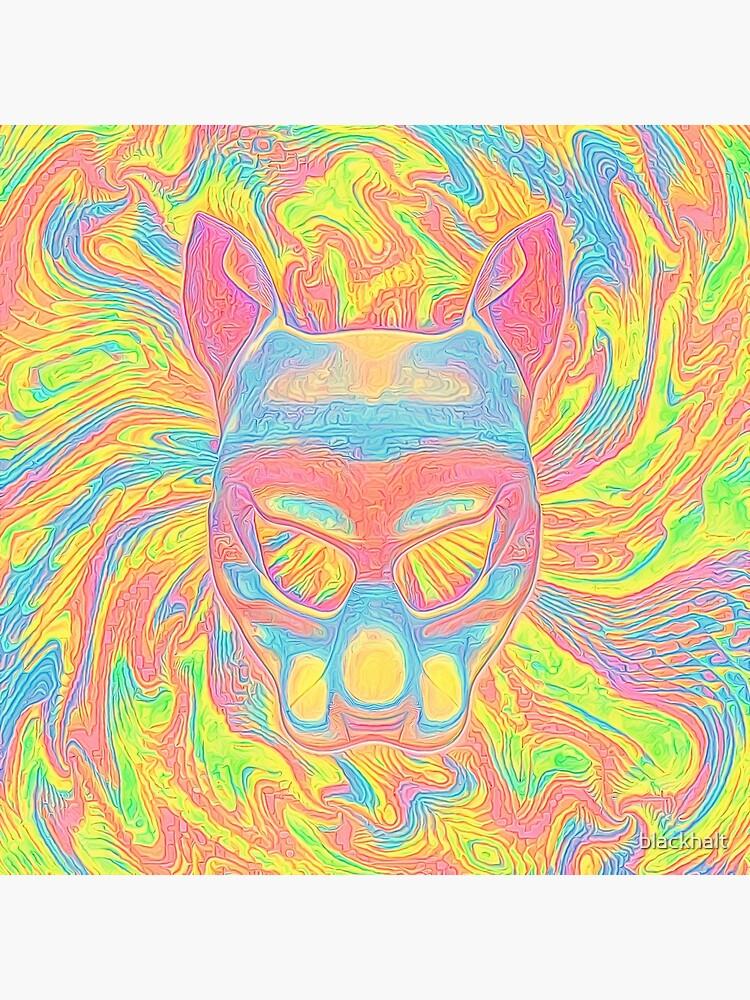 Abstract Mask by blackhalt