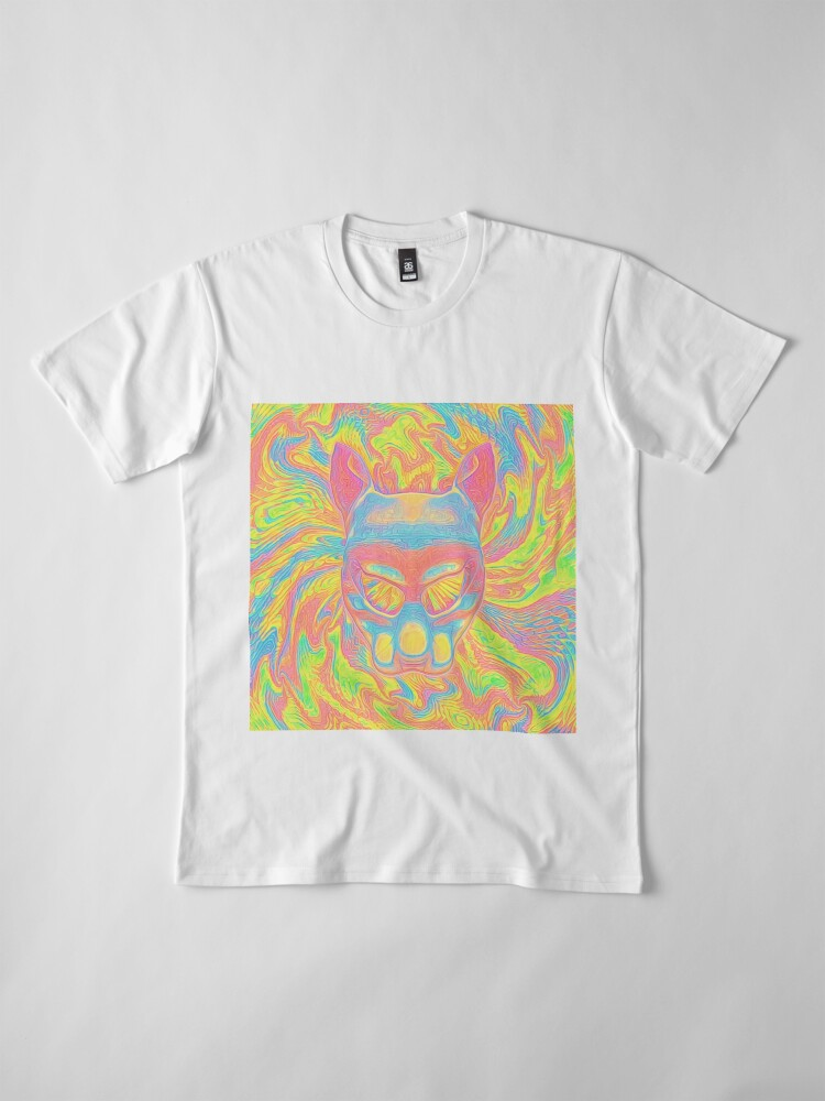 Alternate view of Abstract Mask Premium T-Shirt
