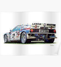 Miki Biasion's Lância 037 Group B (Prints and Mugs) Poster