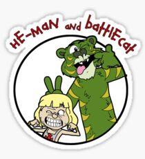 He-man and Battlecat Sticker