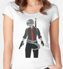 PLAYERUNKNOWN (PUBG) Women's Fitted Scoop T-Shirt