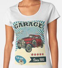 Rusty Vintage Old Sign T-Shirt Garage since 1960 Women's Premium T-Shirt