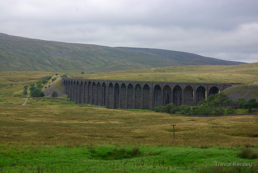 Another View of The Ribblehead Viaduct by Trevor Kersley