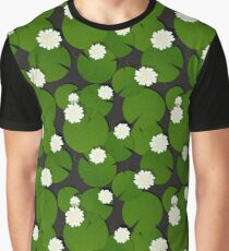 Water Lilies Graphic T-Shirt
